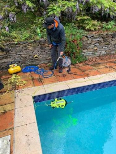 Drone Inscpection Piscine Controle Carrelage